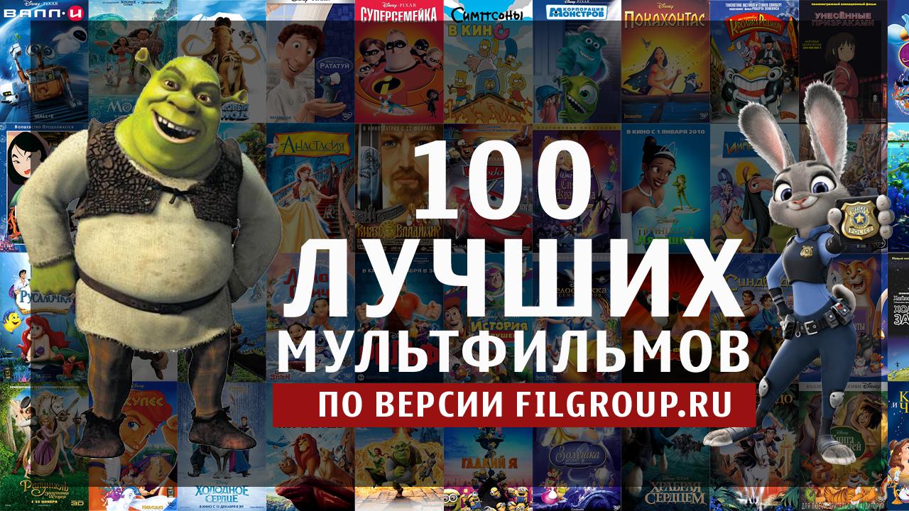 100 лучших мультфильмов