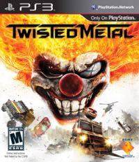 Twisted Metal обложка