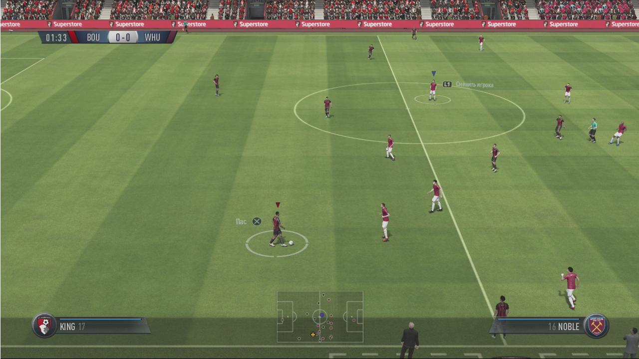 FIFA 19 скриншот PS3