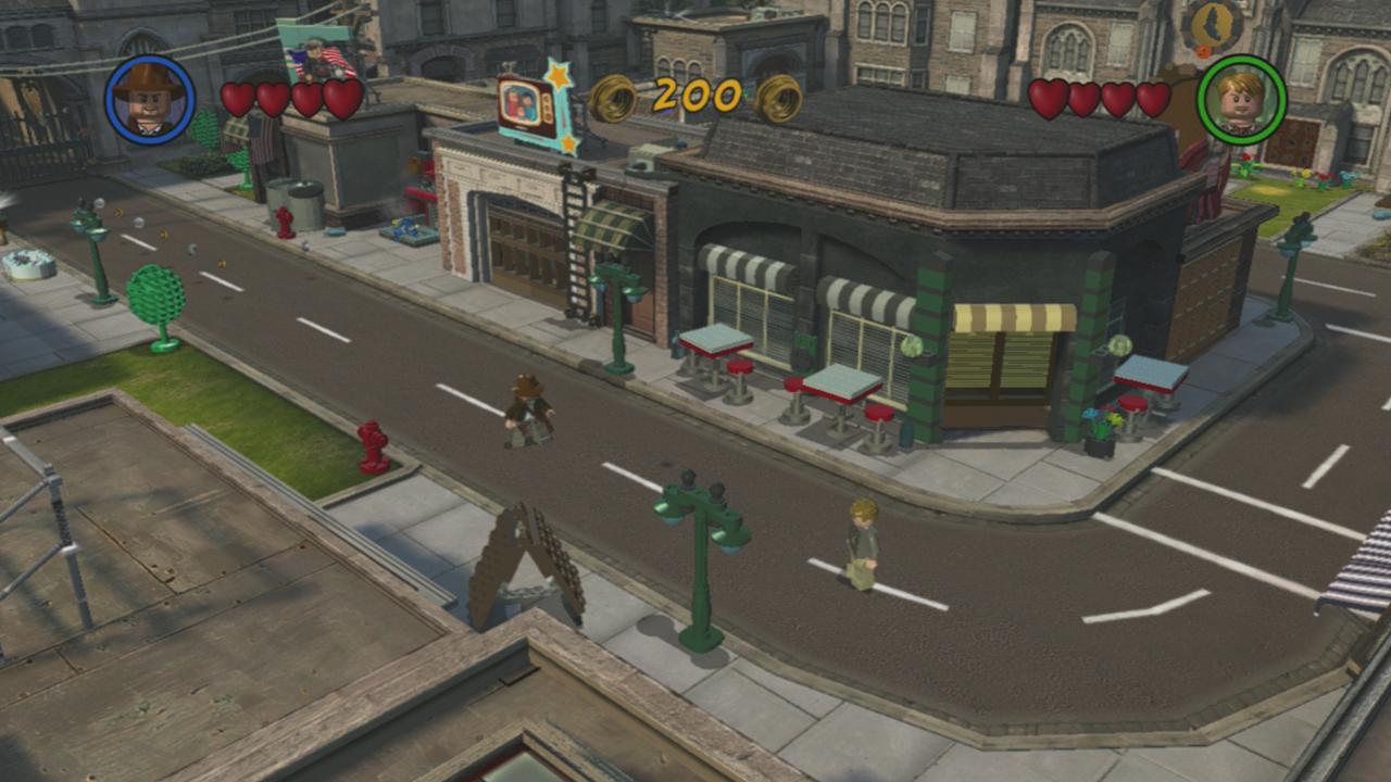 LEGO Indiana Jones 2 скриншот PS3