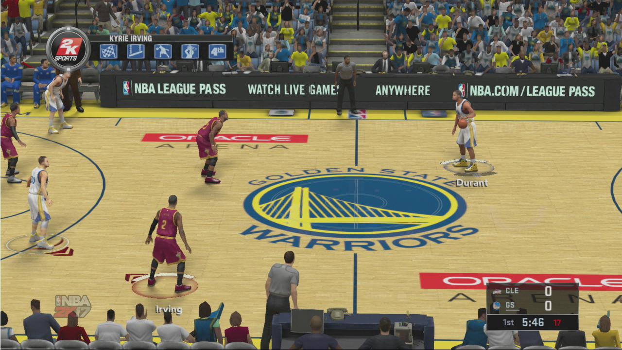 NBA 2K17 скриншот PS3