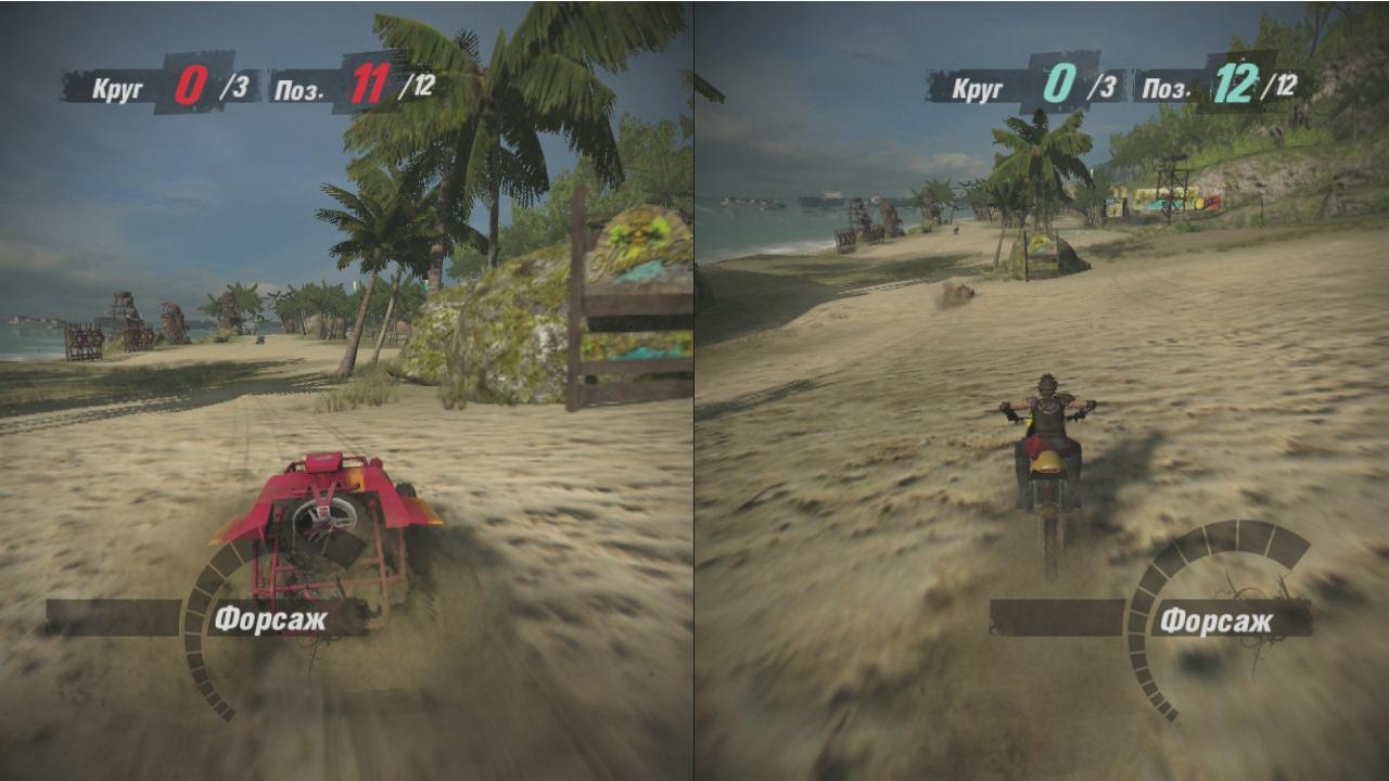 MotorStorm Pacific Rift скриншот